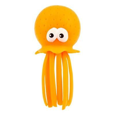 NEW Sunnylife Bath Octopus Neon Orange - Baby Bath Toys