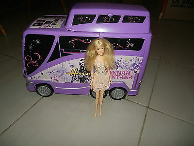 Hannah Montana Tour Bus With Singing Hannah Montana Doll