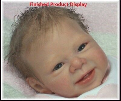 DIY Silicone Mold Safety Doll Accessories Doll Handmade Reborn Smile Doll Kit
