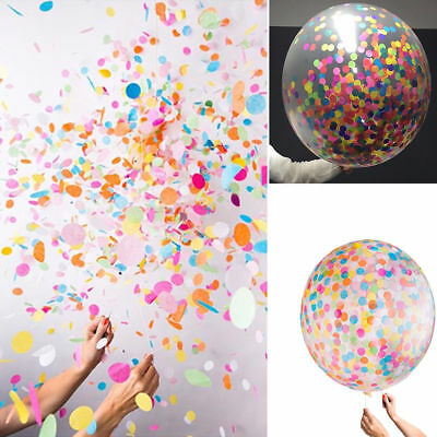 Wholesale 10/20/50g Colorful Throwing Confetti Round Paper Pieces Wedding Decor
