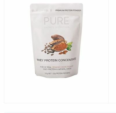 PURE SPORTS NUTRITION Whey Protein Concentrate Organic Cacao Powder 750g