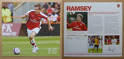 2008-09 Arsenal Signed Official Club Cards