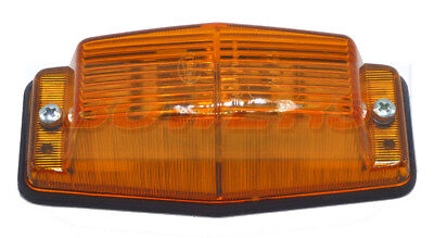 Hella Amber Double Burner / Pole Marker Light Lamp Retro Scania Truck Lorry