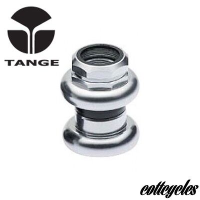 "TANGE PASSAGE 1"" THREADED CHROME PLATED STEEL HEADSET New In Box"