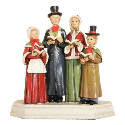 Traditional Christmas Carollers Resin Ornament – Decoration Figurines Carolers
