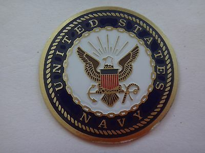 Vietnam War UNITED STATES NAVY Beercan Insignia *NOS*