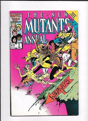 The New Mutants Annual #2 ==> Vf+ 1St Appearance Of Psylocke 1986 Marvel Comics