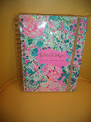 Lilly Pulitzer Large  Gypsea 17 Month Agenda August 2017 - December 2018