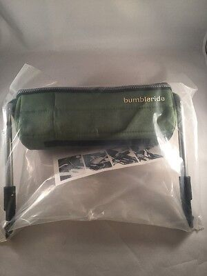 BUMBLERIDE Snack Pack Green for Indie Indie Twin Flite Stroller NEW