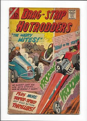 """Drag-Strip Hotrodders #6 [1965 Gd+] """"the Mighty Mites!"""""""