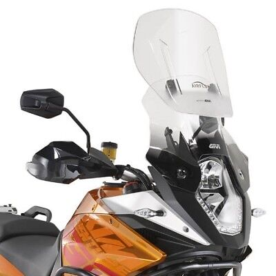 Givi Airflow Windscreen adjustable AF7703G KTM 1050 Adventure Bj. 15 Windshield