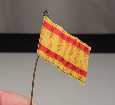 Vintage Celluloid Bread Advertising Premium Flag of Spain