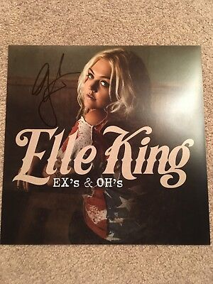 Elle King Signed 12X12 Photo Exact Proof Coa Autographed Ex's & Oh's