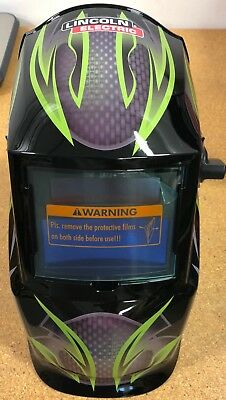 Lincoln Electric K4438-1 Galaxsis Helmet, Shade 9-13 Auto Darkening