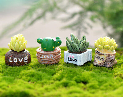 1:12 Mini Green Plant In Pot For Dollhouse Furniture Decoration Home Decor HU
