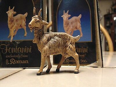 Fontanini, The Goat Figurine in box with Story Card,#52532 Roman 3""