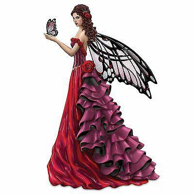 Nene Thomas Womens Heart Fairies Magic of Hope Hamilton Collection Limited NEW