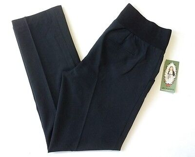 Oh! MaMa Maternity Dress Pants Size Small Black Below Belly Career Work