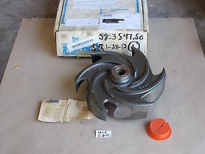+New In Box Goulds 0101-527 1013 Pump Impeller 6-Vane For Model 3196Mt 4X6-10