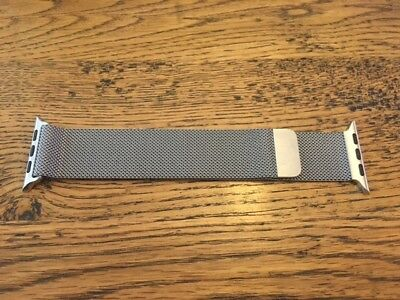Genuine Apple Watch Band - 42mm Stainless Steel Milanese Loop - ORIGINAL