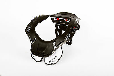 Leatt DBX Bicycle Neck Brace 6.5 Carbon/White  101510014*