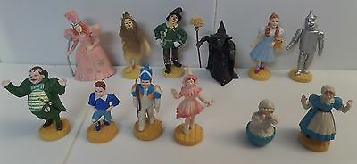 Wizard of Oz Loews MGM Turner Complete Set of 12 PVC 1987-1988