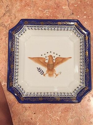 Andrea by Sadek Bald Eagle plate , numbered 7594