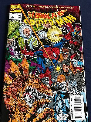 #4 - The Lethal Foes Of SPIDER-MAN - DC 1993