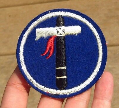 WW2 US Army 19th Corps Military SSI Insignia Patch Wool Felt