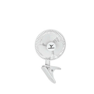 Seahawk Clip Mount Fan - 150MM | 2 Speed | 20W | For Grow Tent