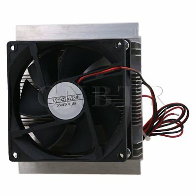 60W Thermoelectric Semiconductor Refrigeration Cooler Fan DC12V