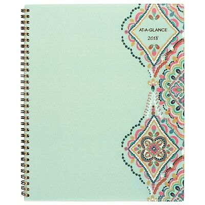 "AT-A-GLANCE Weekly / Monthly Planner January 2018 - December 2018 8-1/2"" x 11..."