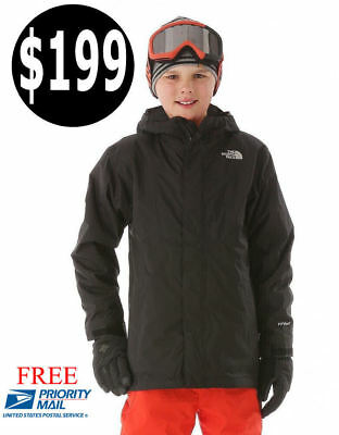 The North Face Boys Triclimate 4 In 1 Jacket Hyvent Waterproof Sz M,l,xl, $199