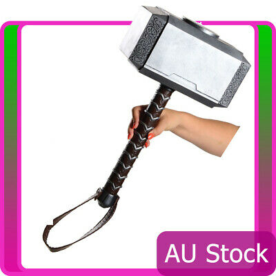 Licensed Thor Hammer Avengers Armour Weapon Toy Superhero Cosplay Accessories