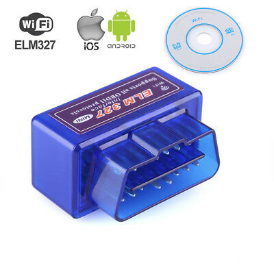 ELM327 OBDII OBD2 WiFi ANDROID Car Wireless CAN BUS Diagnostic Scanner Scan Tool
