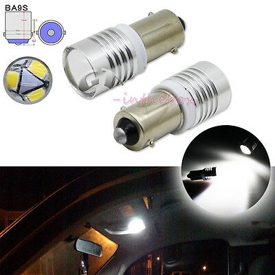 2X Error Free 3-SMD LED SMD White Interior Map lights For Audi A4 B5 B6 B7 94-08