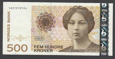 500 Kroner From Norway A1