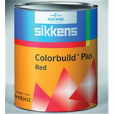 Sikkens Colorbuild Plus Red primer surfacer 2K HS for body car color build 1 lt