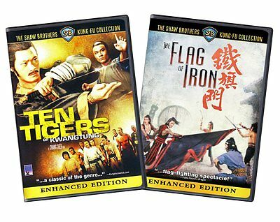Ten Tigers of Kwangtung / The Flag Of Iron (Two-pack)