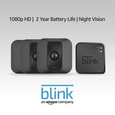 Blink XT Indoor/Outdoor Home Security Camera battery powered, wireless, AU plug