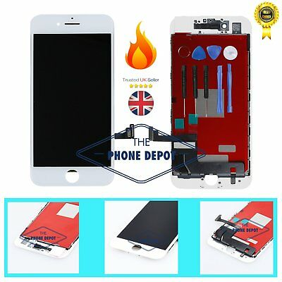 """For iPhone 7 LCD Display Digitizer Touch Screen Replacement Assembly White 4.7"""""""