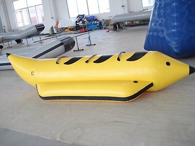 Boat Inflatable Banana Towable Water Tube 3 Ski Dog Person Hot Sport New