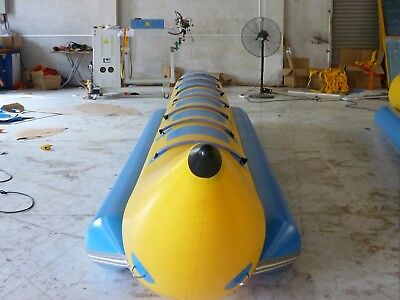 Boat Inflatable Banana Towable Water Tube 7 Ski Dog Person Hot Sport New