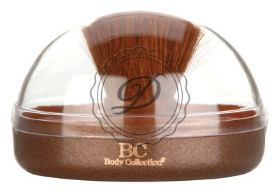Body Collection Duo Bronzer - Contouring Two Shades Included Brush Shimmer Face