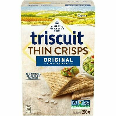 Triscuit Thin Crisps, Original, 200g {Imported from Canada}