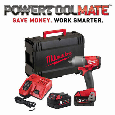 "Milwaukee M18FMTIWF12-502X M18 FUEL Mid-Torque 1/2"" Impact Wrench Friction Ring"