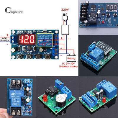 Under Over Voltage Protection Module Battery Automatic Charger Discharger Board