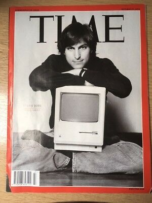 TIME MAGAZINE October 2011 Steve Jobs RIP
