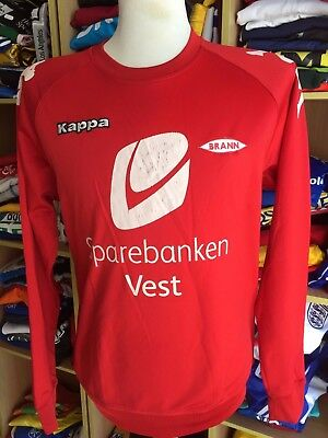 TOP Shirt Brann Bergen (XL) Kappa Norwegen Norway Sweatshirt Training Trikot