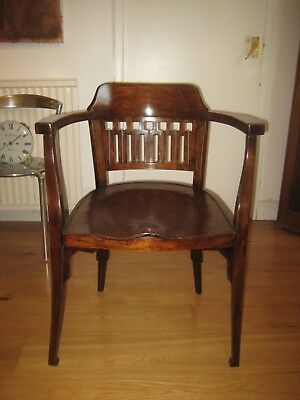 RARE  OTTO WAGNER model 714 CHAIR c 1906  - JUGENDSTIL ART NOUVEAU PERIOD chair